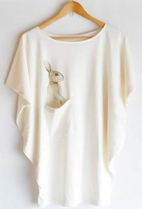 Rabbit top with pocket - free size